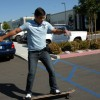 Lyoto Machida Skateboarding